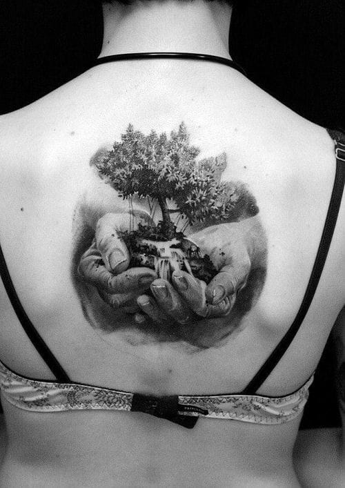 LET IT GROW. Awesome nature tattoo