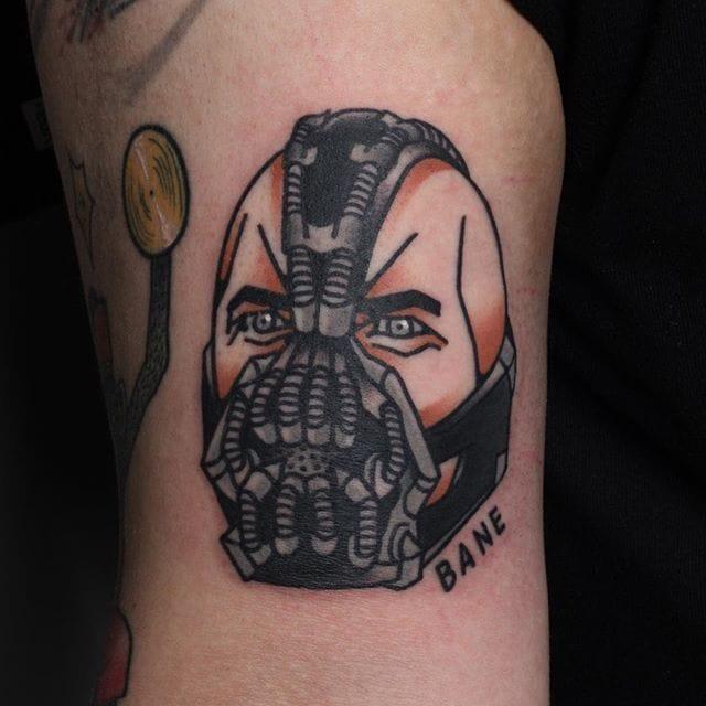 Bane Tattoo by Jang Yongbin