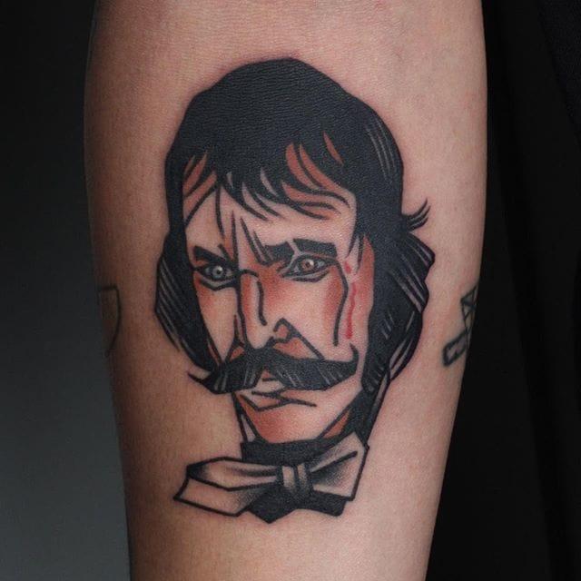 Bill The Butcher Tattoo by Jang Yongbin