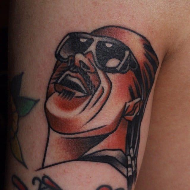 Stevie Wonder Tattoo by Jang Yongbin