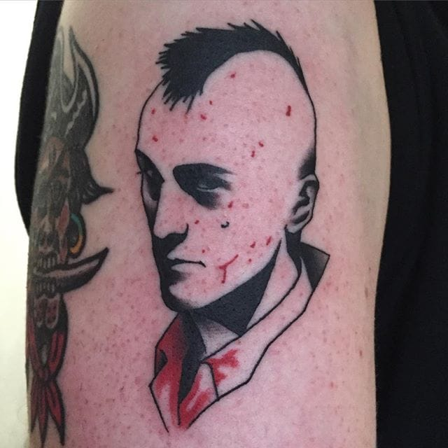 Travis Bickle Tattoo by Jang Yongbin