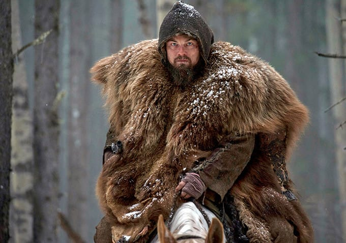 From DiCaprio's new movie The Revenent