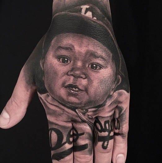 Beautiful Full Hand Tattoo by Anam Q
