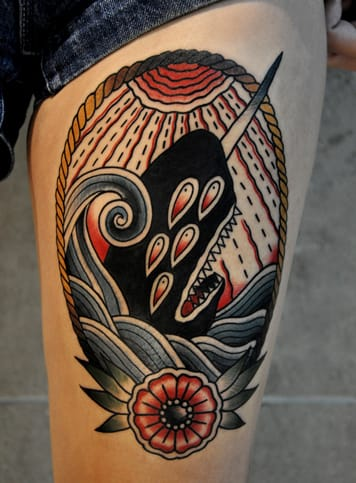 Tattoo by Christian Lanouette