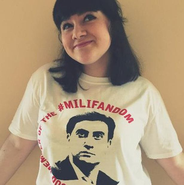 Hannah Stock #1 Milifan shows her dedication of Milifandom