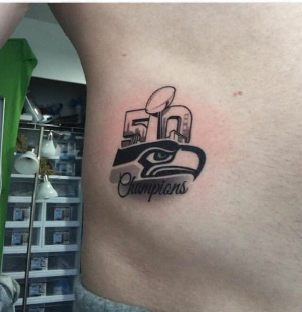 Check Out These Insane Super Bowl 50 Fan Tattoos!