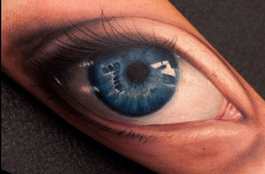 20 Striking, Stunning & Realistic Eye Tattoos