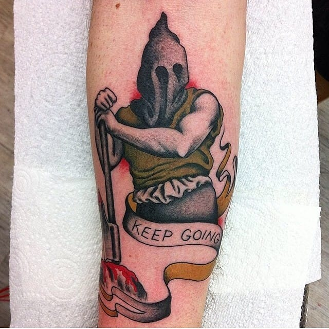 Executioner Tattoo by Olivia Dawn