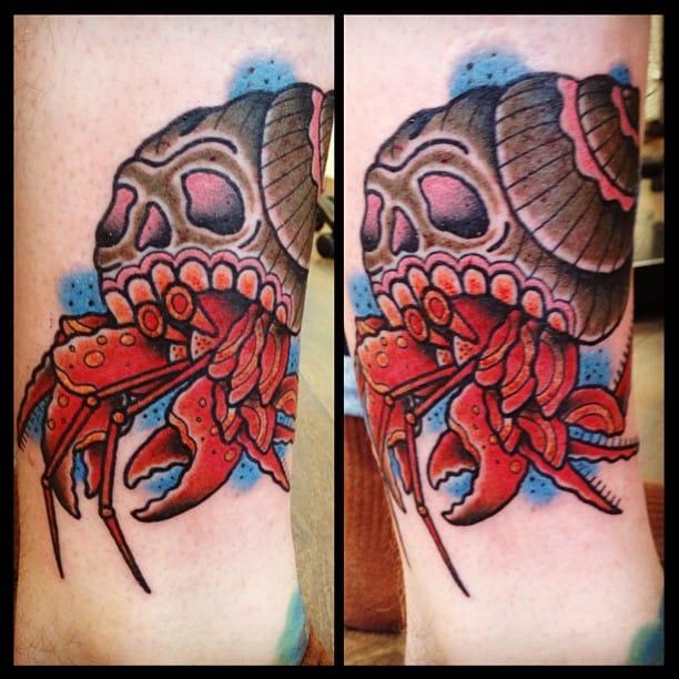 Tattoo by Ollie Pinder