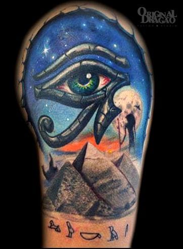 The Eye of Horus by Fred Stefani.