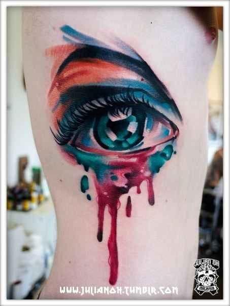 An eye candy of watercolors by Julian Oh.
