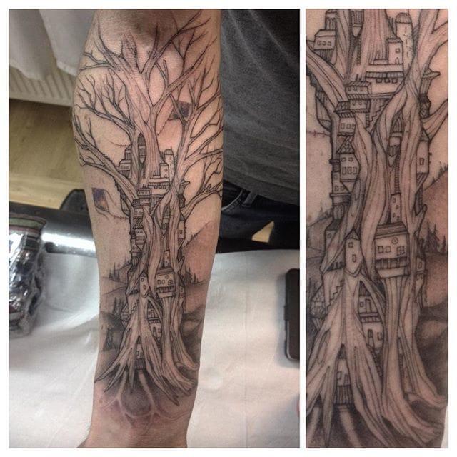 Poetic tree.