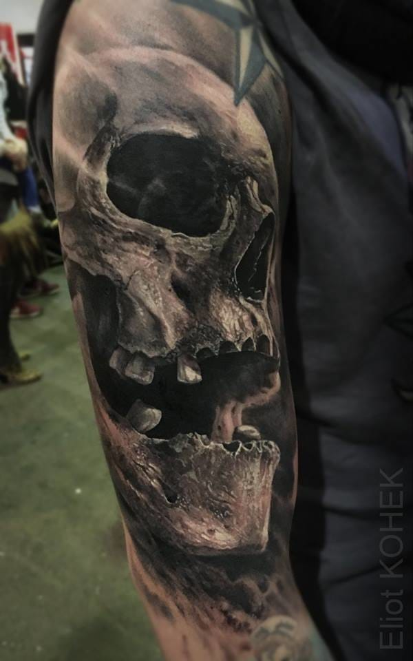 Another breath-taking skull...