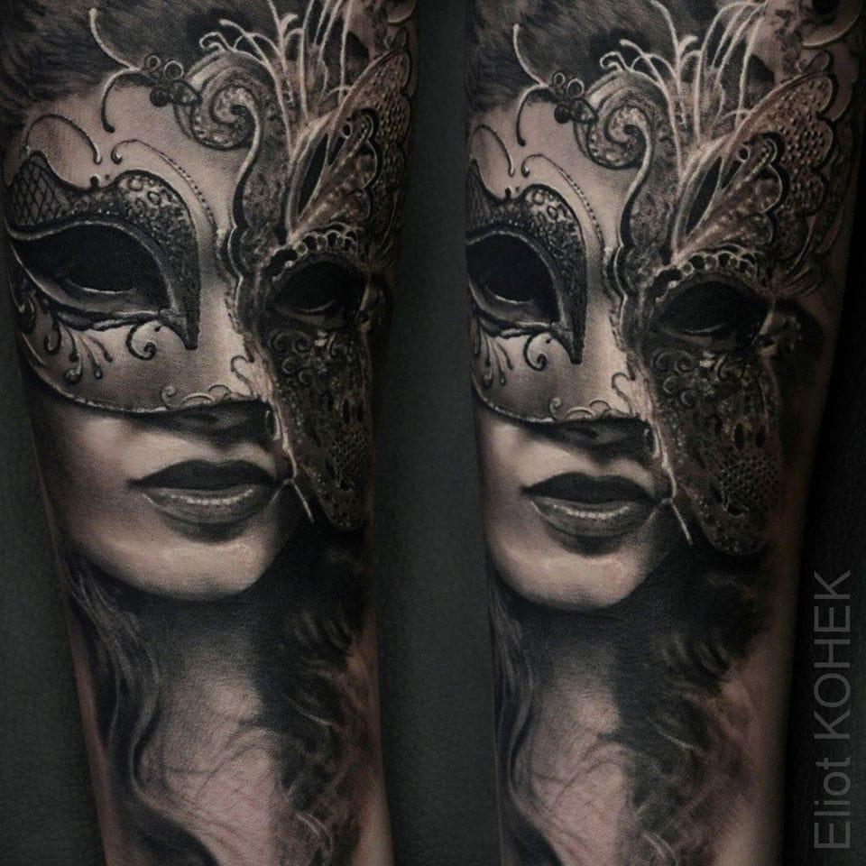 Exquisite Venetian mask.