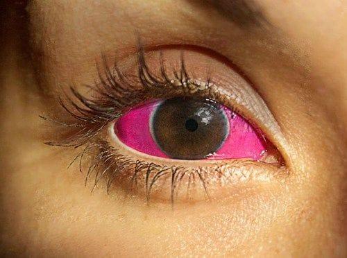Eyeball tattoo