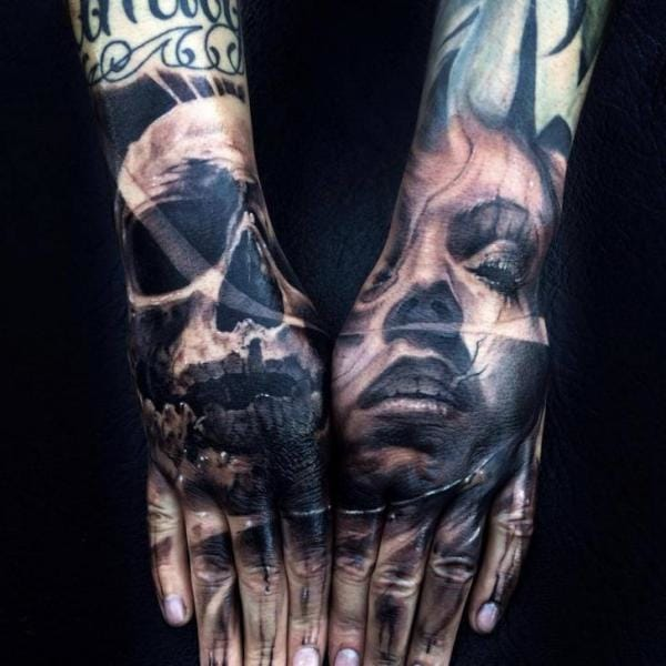 Brave matching hands by Jak Connolly...
