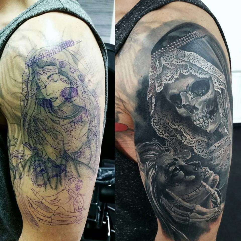 Awesome cover-up by Alexander Pashkov!