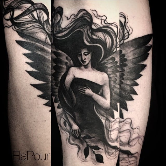 Dark angel by Ela Pour
