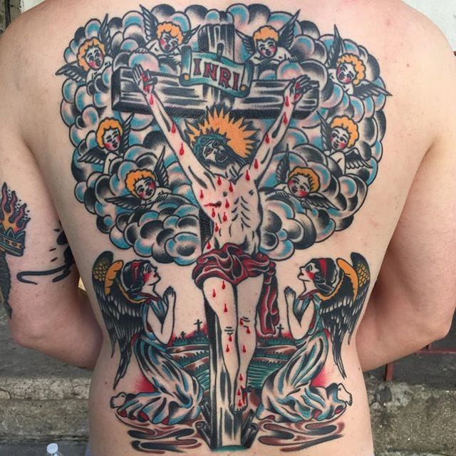 10 Powerful Bold Tattoos By Mr. Bert Krak