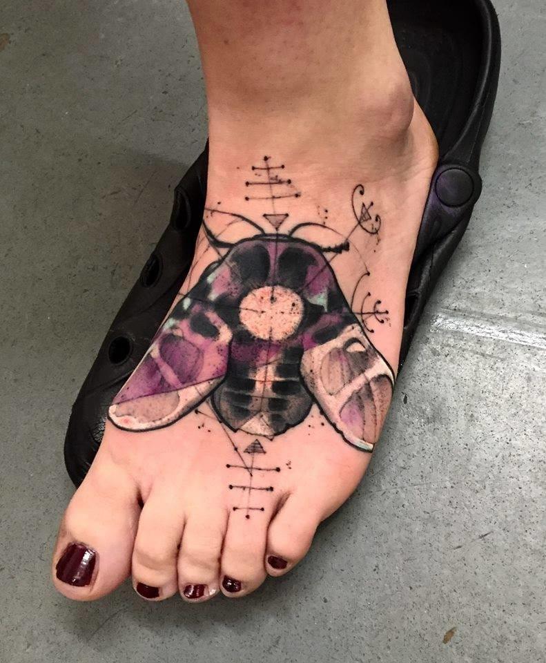 Artistic foot.