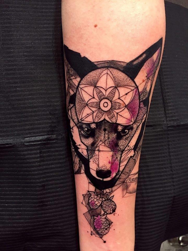 Mandala fox.