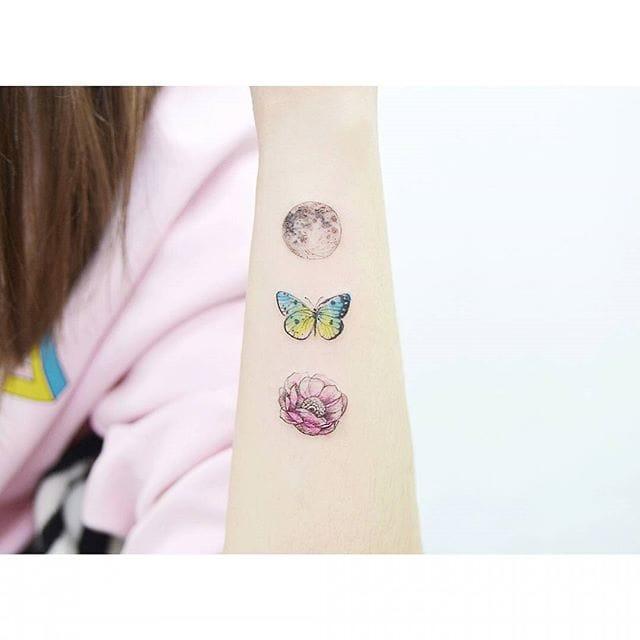 Poetic tattoos.