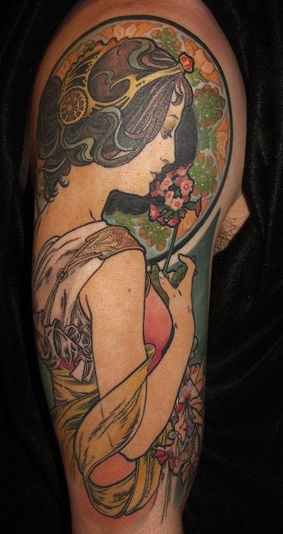 Romantic tattoo by Sam Smith.