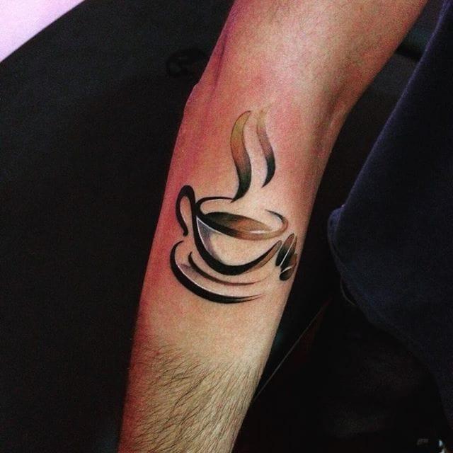 15 Energizing Coffee Tattoos