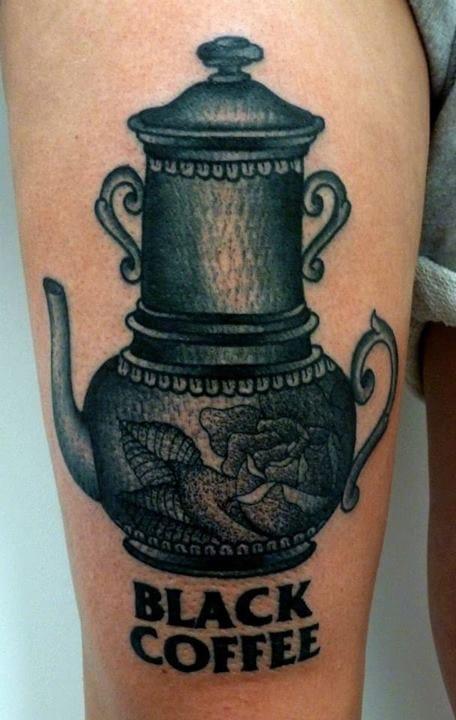 Coffee Tattoo by Giacomo Sei Dita