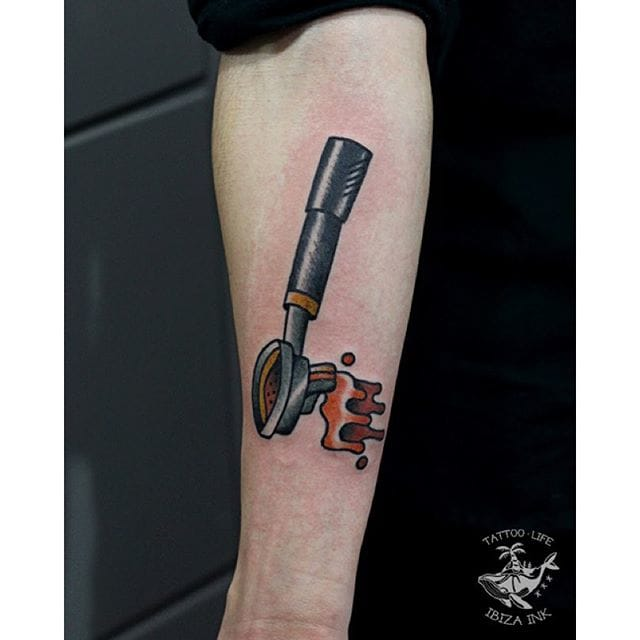 Coffee Tattoo by Ibiza Ink