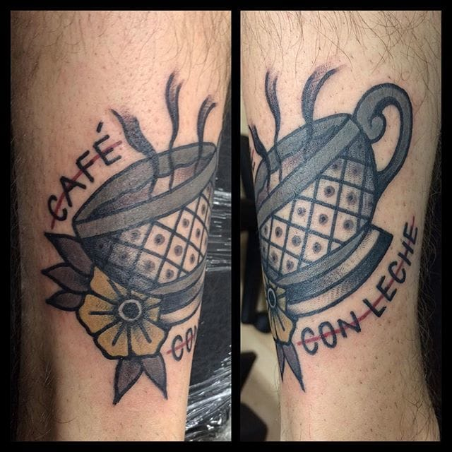 Coffee Tattoo by Johan Navarro