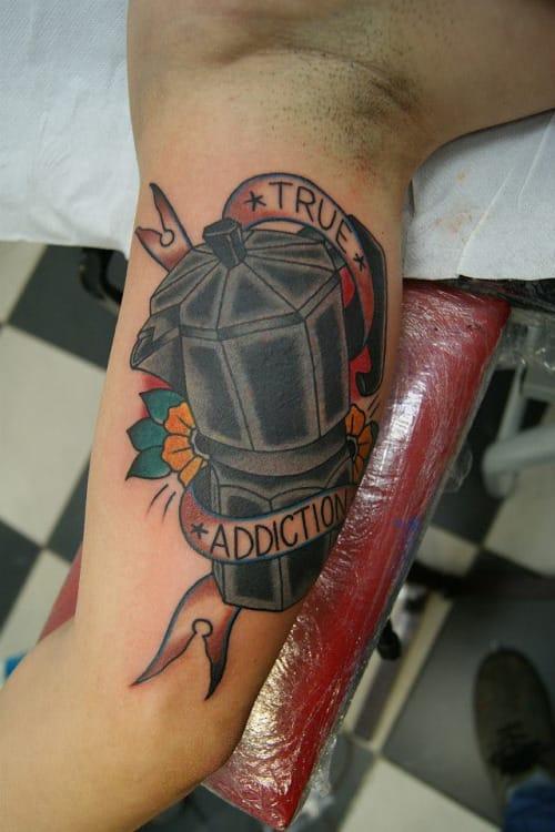 Coffee Tattoo by Mauro Quaresima