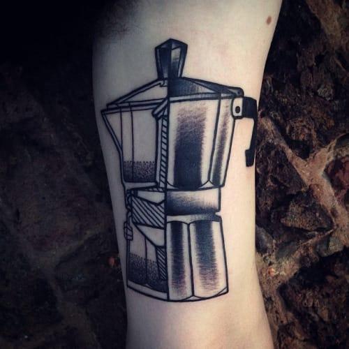 Coffee Tattoo by Michele L'Abbate