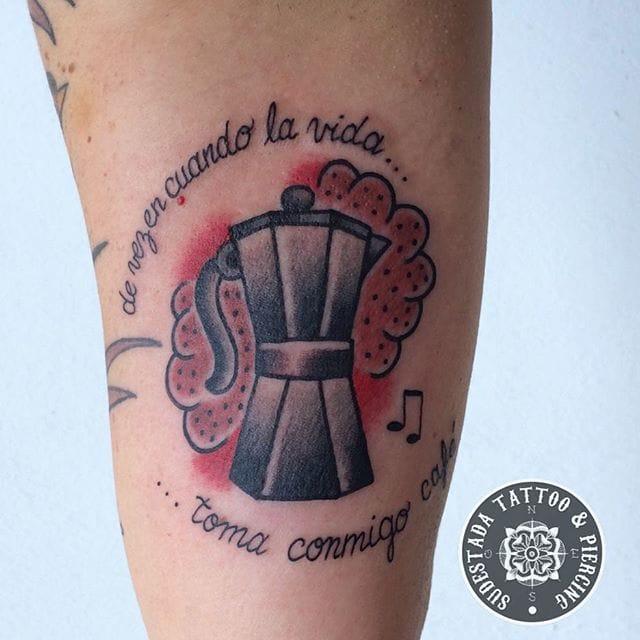 Coffee Tattoo by Sergio Garcia