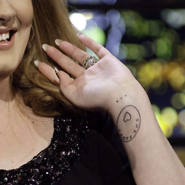 The tattoo is in honor of her Mom Penny