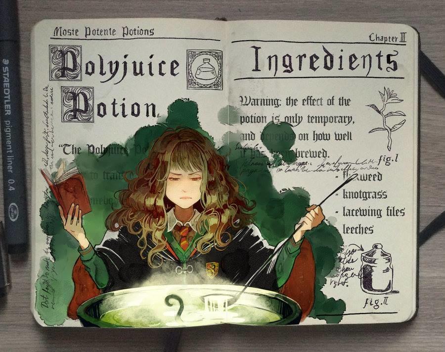"""Polyjuice Potion"""