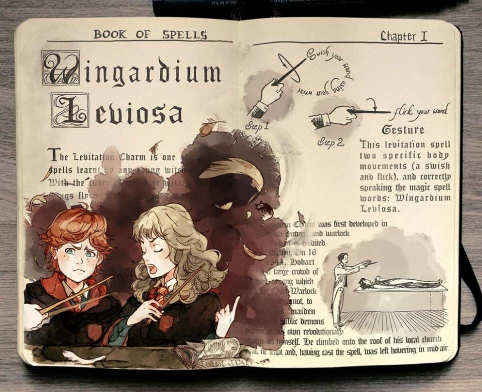 """Wingardium Leviosa"""