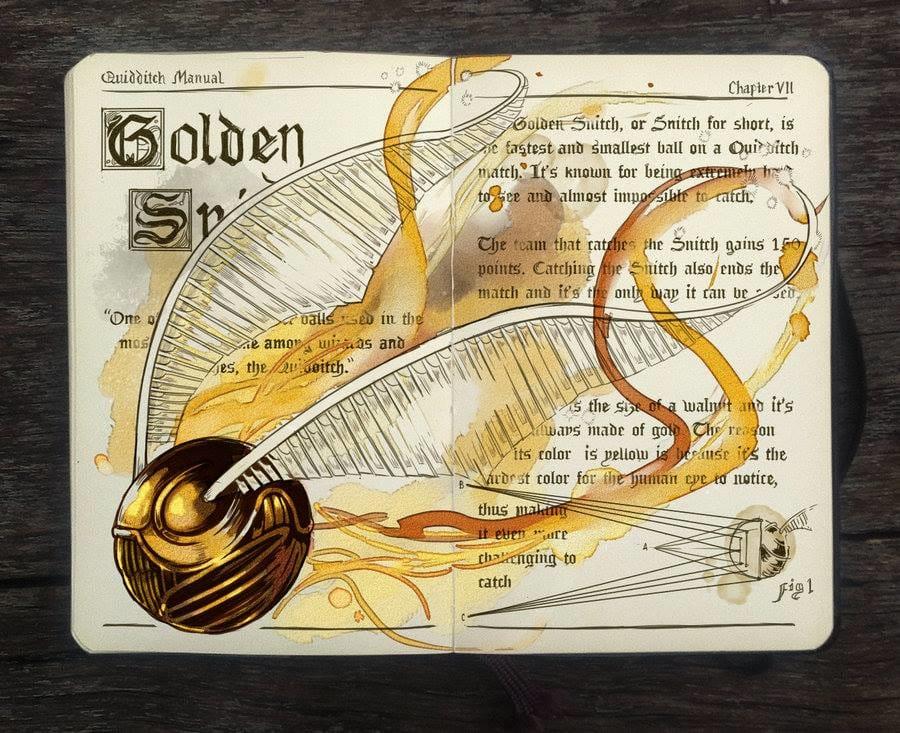 """Golden Snitch"""