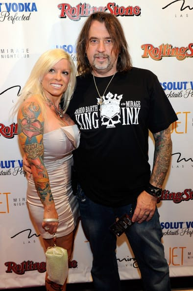 Mario and his wife Carol attend a Rolling Stone magazine bash in Las Vegas
