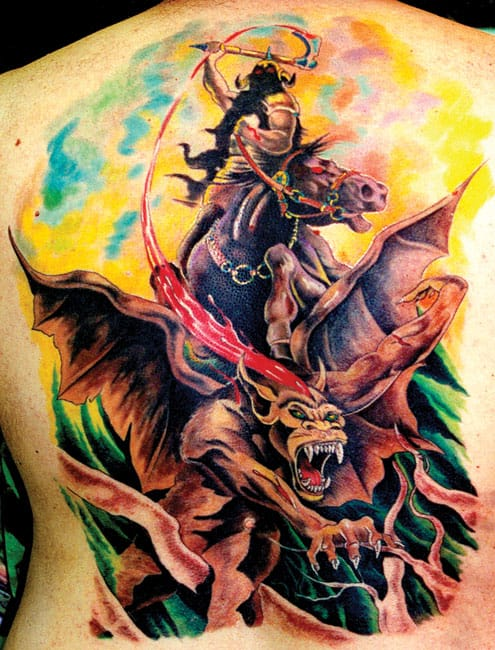Awesome color fantasy piece