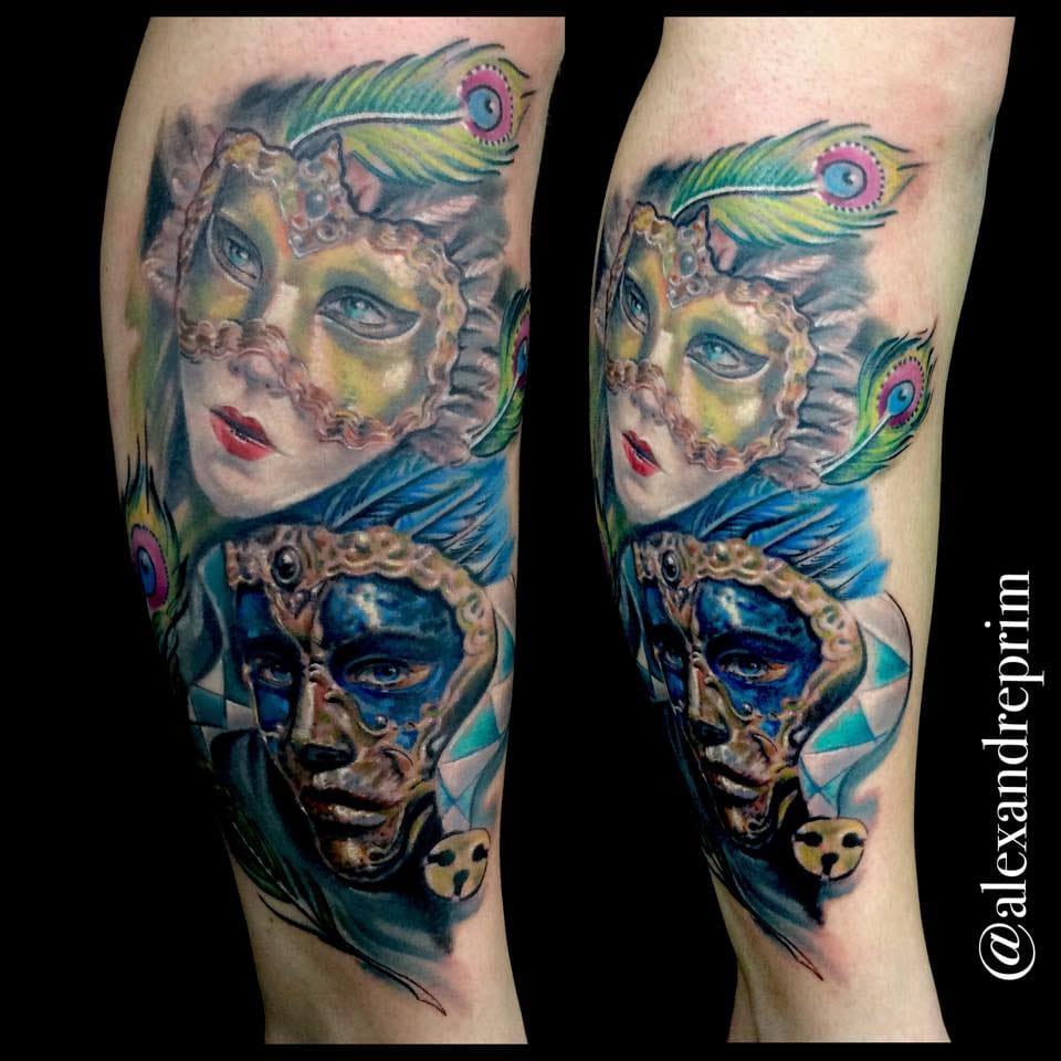 18 Fantásticas Tatuagens De Alexandre Prim