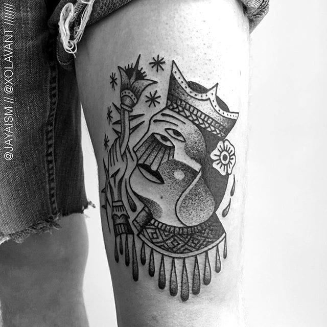 King tattoo by Jaya Suartika