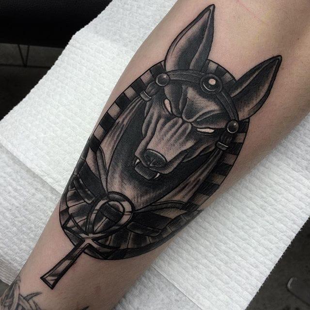 16 Symbolic Anubis Tattoos
