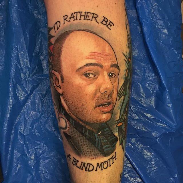 8 Hilarious Karl Pilkington Tattoos