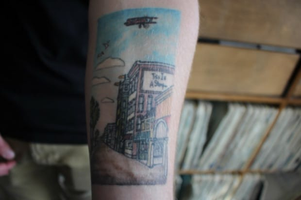 Rock Fan Honors Andrew McMahon With Tattoos