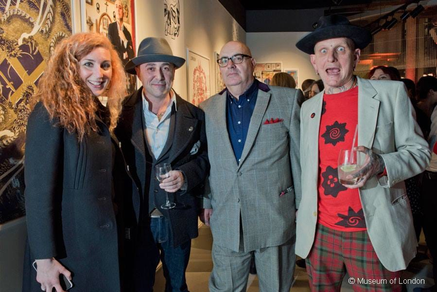 The four artists at the Tattoo London launch event.