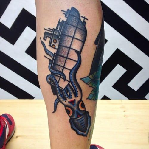 Tattoo by Javier Rodriguez