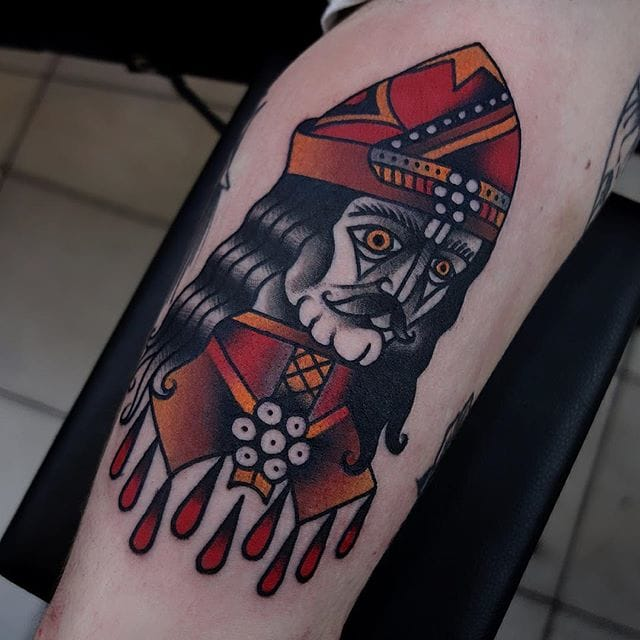 10 Dark Vlad The Impaler Tattoos