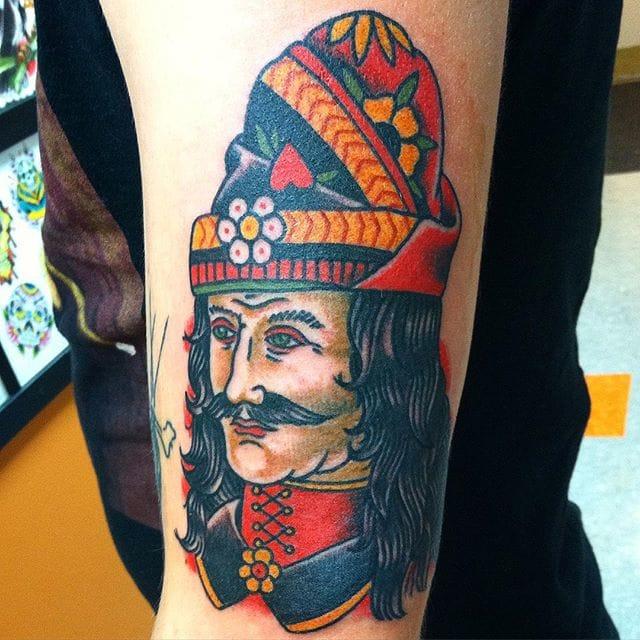 Vlad The Impaler Tattoo by Billy McCoy