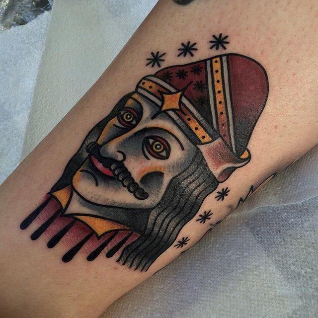 Vlad The Impaler Tattoo by Chris Jenko